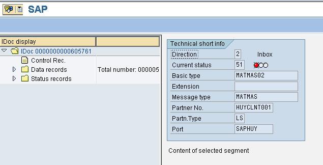 Conversion of IDoc Status – GANESH SAP SCM